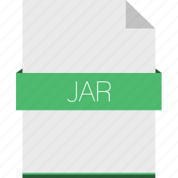 android, extension, file, format, jar, java icon