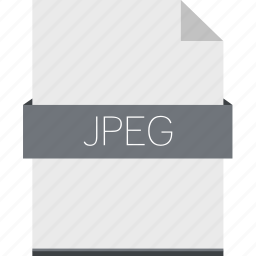 extension, file, format, image, jpeg, raster icon