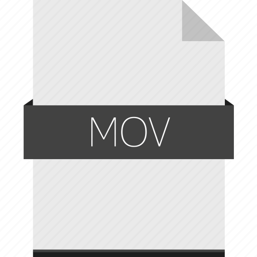 extension, file, format, mov, movie icon