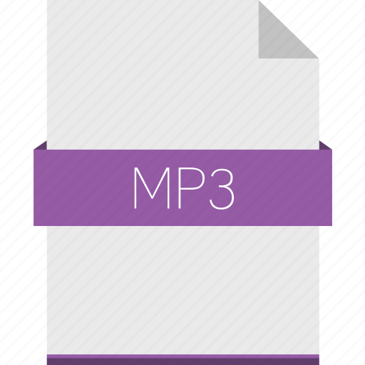 audio, extension, file, format, mp3, sound icon