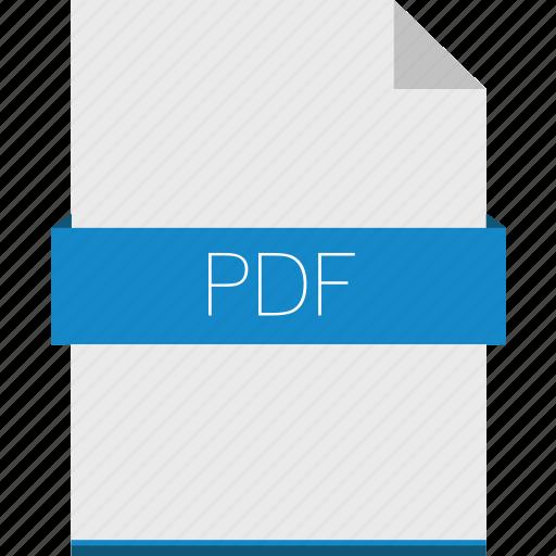 adobe, book, ebook, extension, file, format, pdf icon