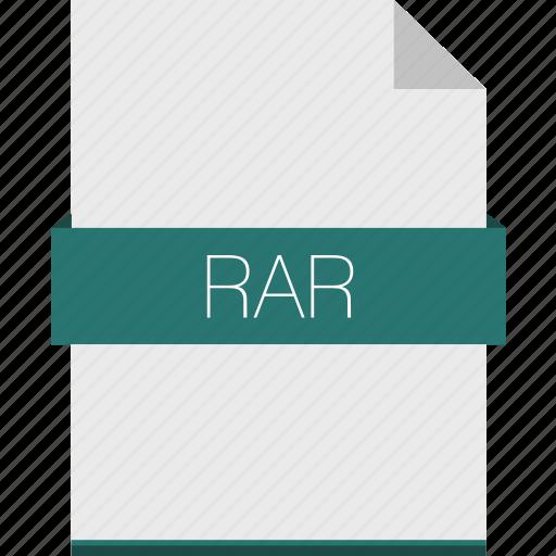 compression, extension, file, format, rar, winrar, zip icon