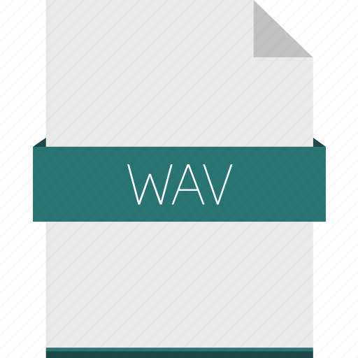 audio, extension, file, format, sound, wav, wave icon