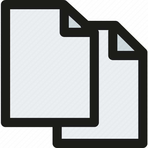 copy, data, document, extension, file, format, paper icon