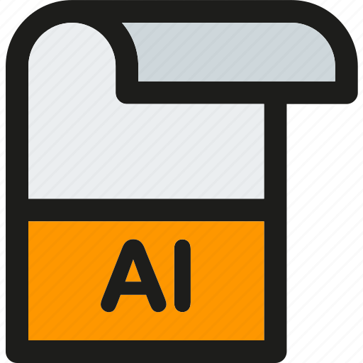 Illustrator, data, document, extension, file, format, paper icon - Download on Iconfinder