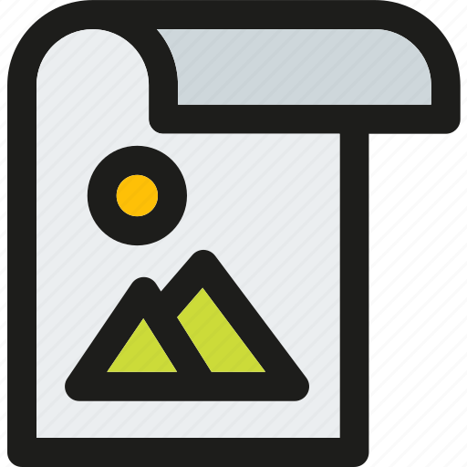 data, document, extension, file, format, image, paper icon