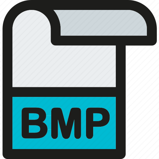 bmp, data, document, extension, file, format, paper icon
