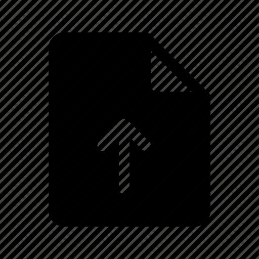 Document, file, upload icon - Download on Iconfinder