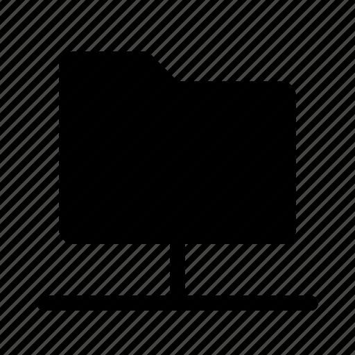 cloud, connection, folder icon