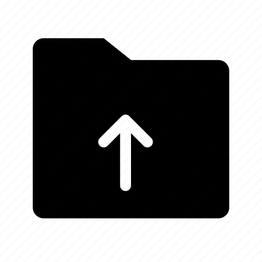 files, folder, upload icon