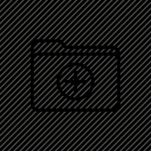 add folder, documents, download, files, folder, folders, new folder icon