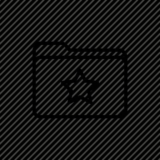 documents, download, favorites, files, folder, folders, star folder icon
