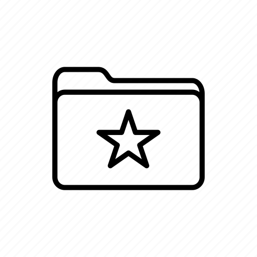 documents, download, favorites folder, files, folder, folders, star icon