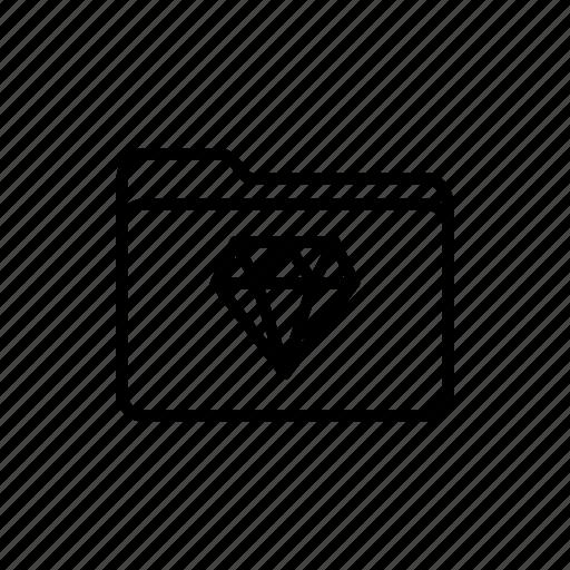 diamond, documents, download, favorites folder, files, folder, folders icon