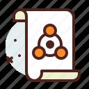 list, office, organizer, science icon