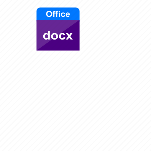 document, docx, file format, ms office, office, word icon