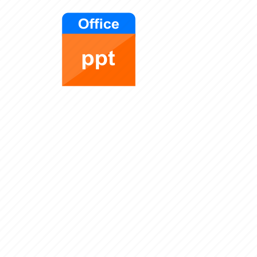 extension, file format, microsoft, ms office, office, power point, ppt icon