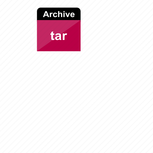 archive, data, extension, file, file format, tar icon