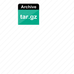 archive, extension, file format, gz, tar, tar.gz icon