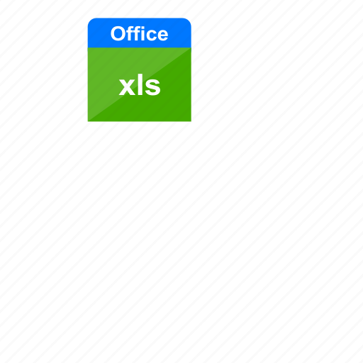 document, excel, file format, microsoft, ms office, office, xls icon