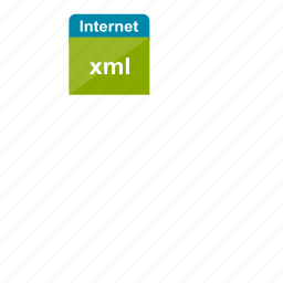 extension, file format, internet, xml icon