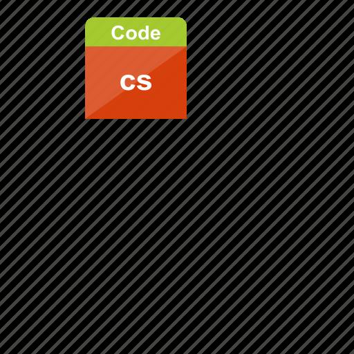 c#, code, cs, csharp, file format, programming, script icon