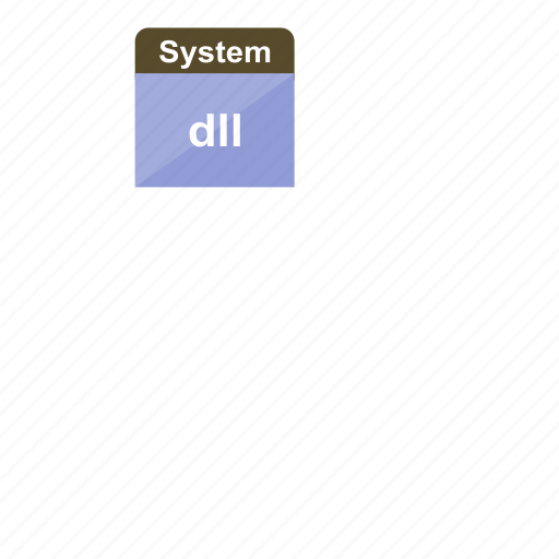 dll, dynamic link library, extension, file format, system icon