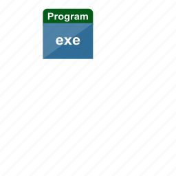exe, executable, extension, file format, program icon