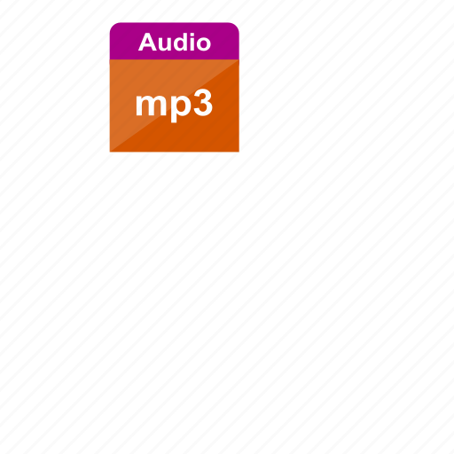 audio, extension, file format, mp3, music, sound icon