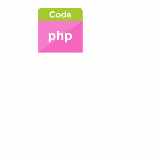 code, extension, file format, php, programming, web icon