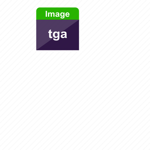 extension, file format, image, photos, pictures, tga icon