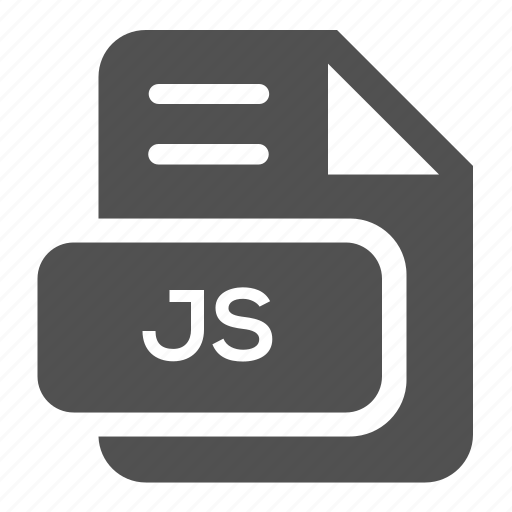 document, extension, file, format, java, js, type icon