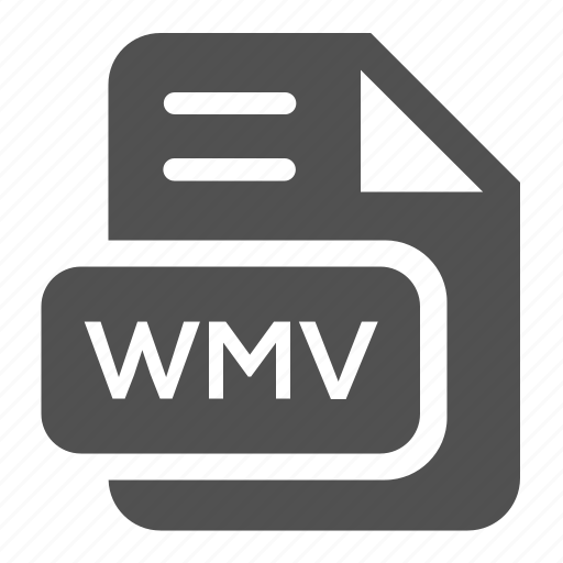 document, extension, file, format, type, wmv icon