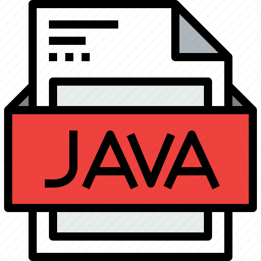 document, file, format, java icon