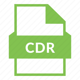 cdr, cdr file, corel draw, document, file format, image file, vector file icon