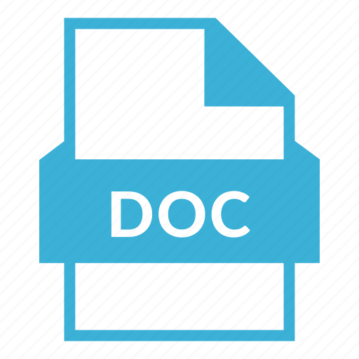 doc, doc file, document, word, word processor, write icon
