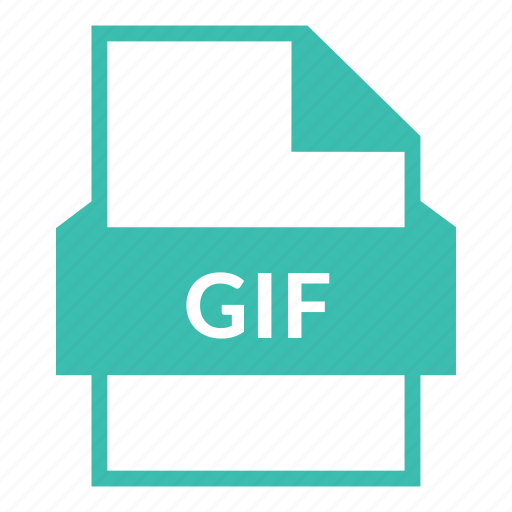 animation, document, extension, file format, gif, gif file, graphics icon