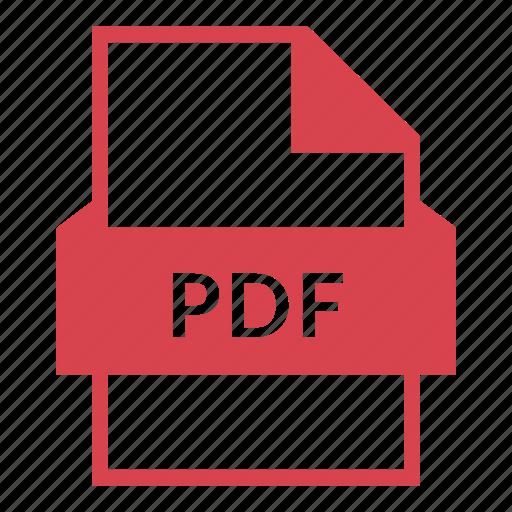 adobe, document, extension, pdf, pdf document, pdf file, read icon
