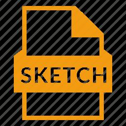 document, extension, sketch, sketch file, vector, vector graphics icon