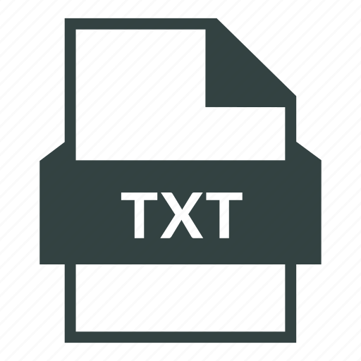data file, document, extension, text, text file, txt, txt file icon