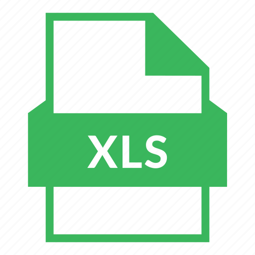 cells, excel, extension, format, microsoft, xls, xls file icon