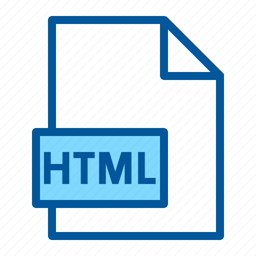 Document, extension, file, format, html icon - Download on Iconfinder