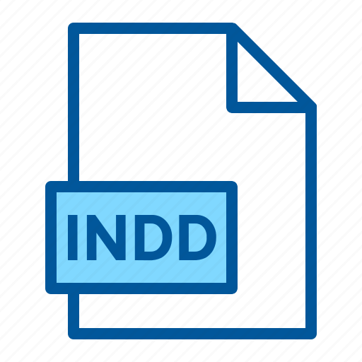 document, extension, file, format, indd icon
