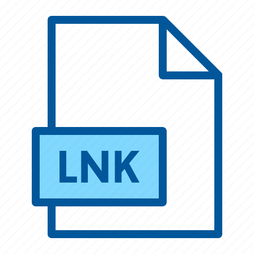 document, extension, file, format, lnk icon