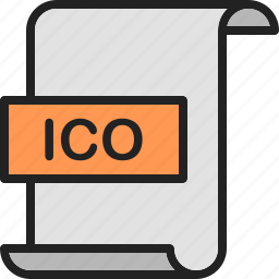 document, extension, file, format, ico, image, page icon