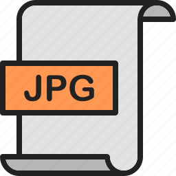 document, extension, file, format, image, jpg, page icon