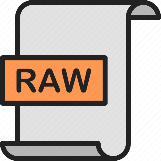 document, extension, file, format, image, page, raw icon
