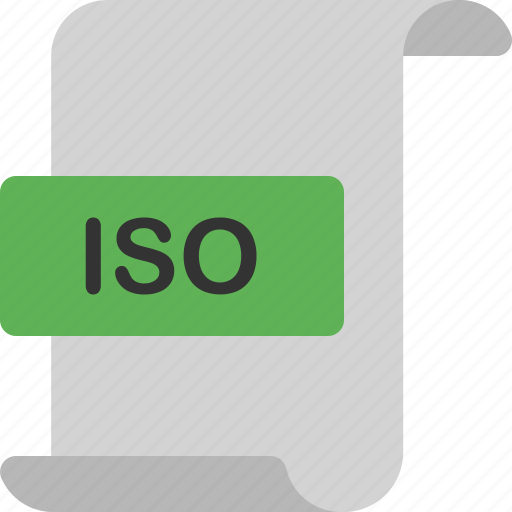 application, document, extension, file, format, iso, page icon