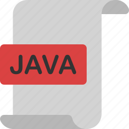 code, document, extension, file, format, java, page icon