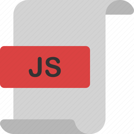 code, document, extension, file, format, js, page icon